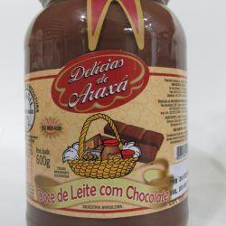 Doce de Leite com Chocolate - Delicias de Araxa 600g