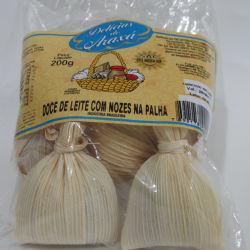 Doce de Leite com Nozes na Palha - Delicias de Araxa 200g