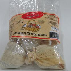 Doce de Leite com Passas na Palha - Delicias de Araxa 200g