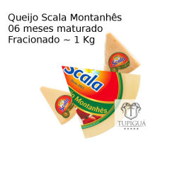 Queijo Fracionado Parmesão Montanhês Scala (06 Meses de Maturação) ~1kg