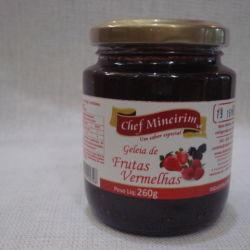 Geléia de Frutas Vermelhas - Chef Mineirim 260