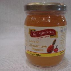 Geléia de Abacaxi com Pimenta - Chef Mineirim 230g